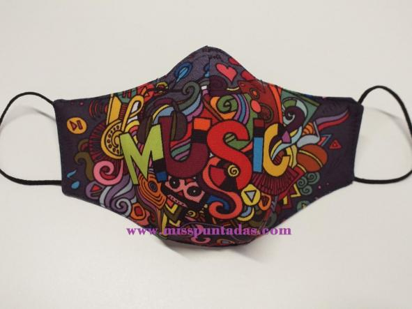 Mascarilla Music MP-VR. [0]
