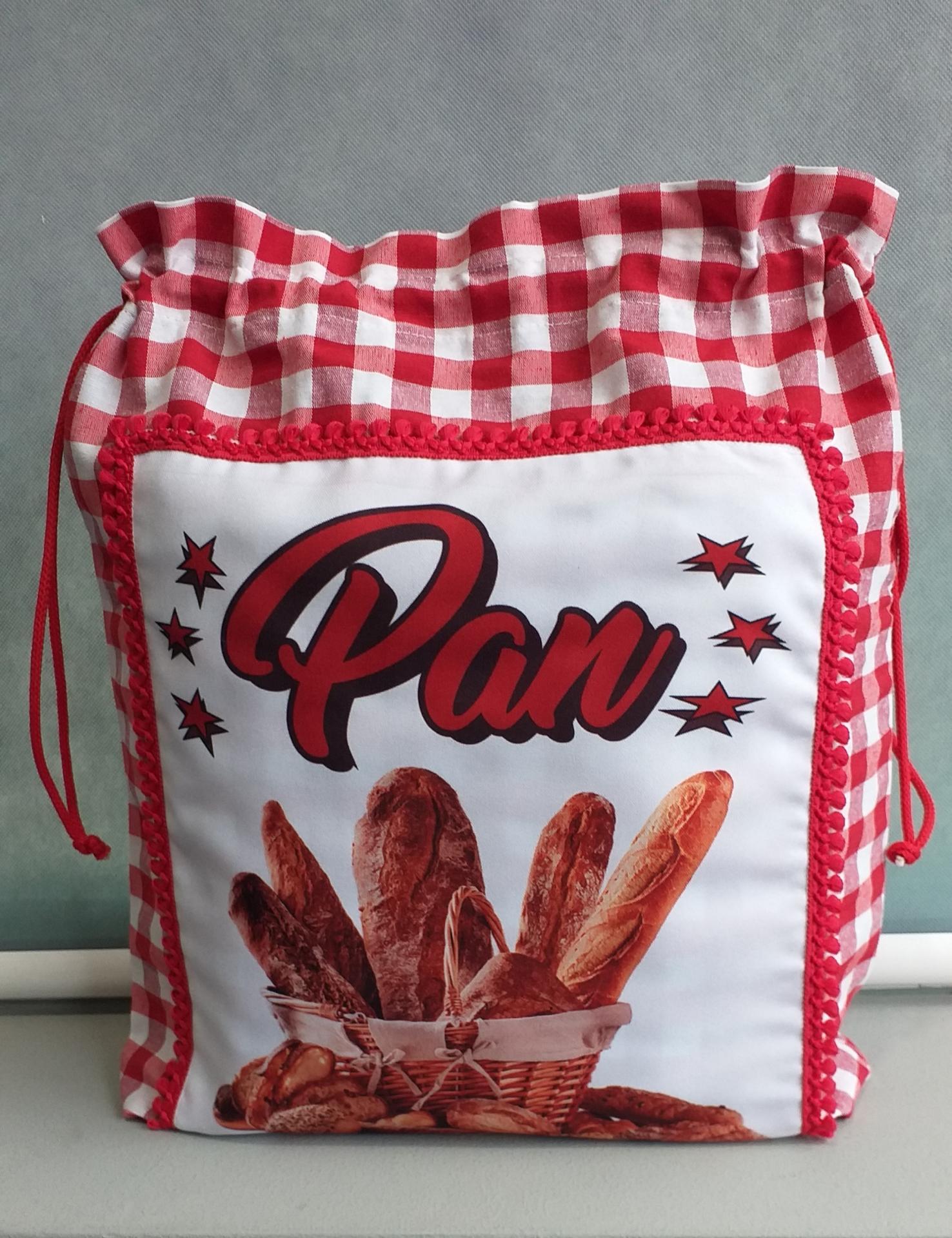 Bolsa pan roja