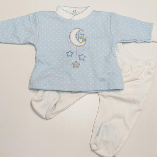 Pijama mod. Búho. [1]