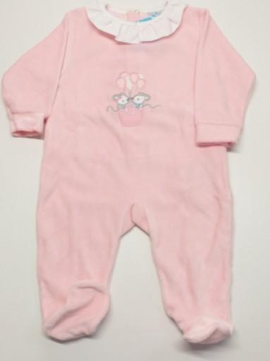 Pijama mod. Globos rosa