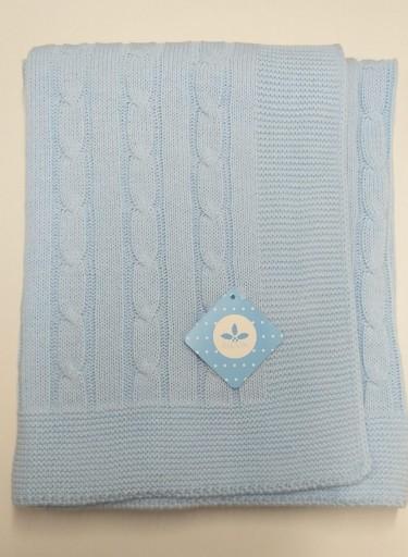 Toquilla ochos azul