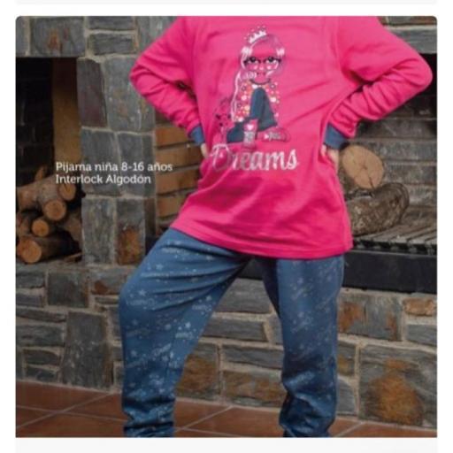 Pijama Niña Corona