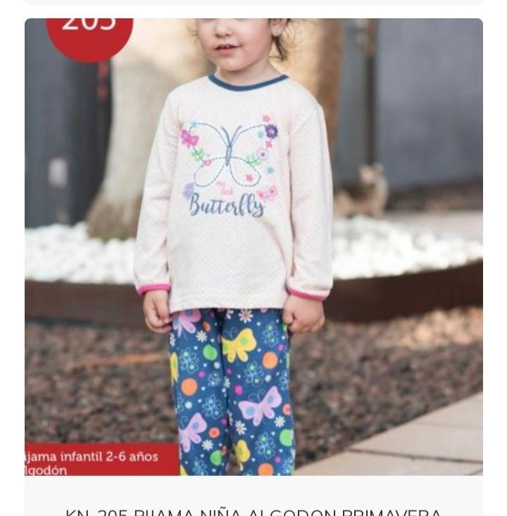Pijama Mariposa