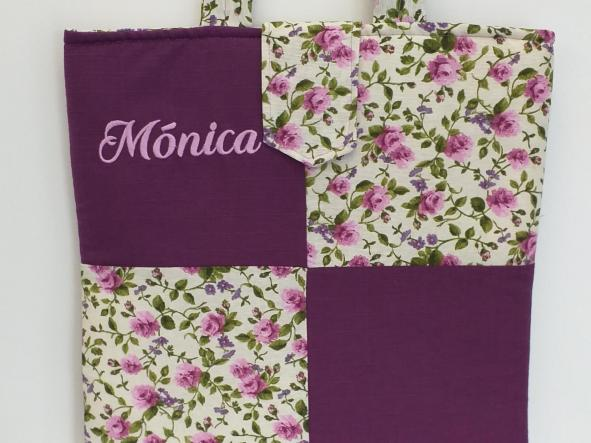Bolsa patchwork Mónica