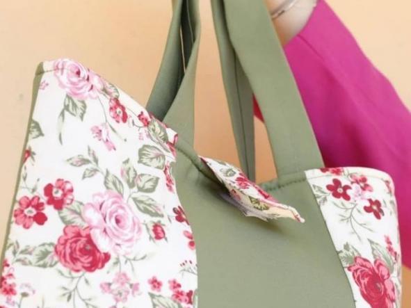 Bolsa Verde de Flores  [1]