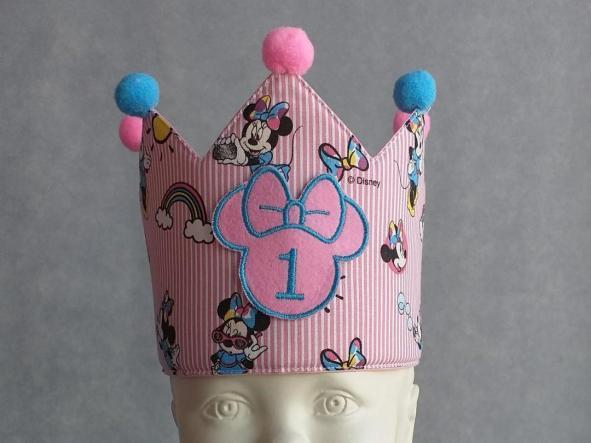 Corona Cumpleaños Minnie.