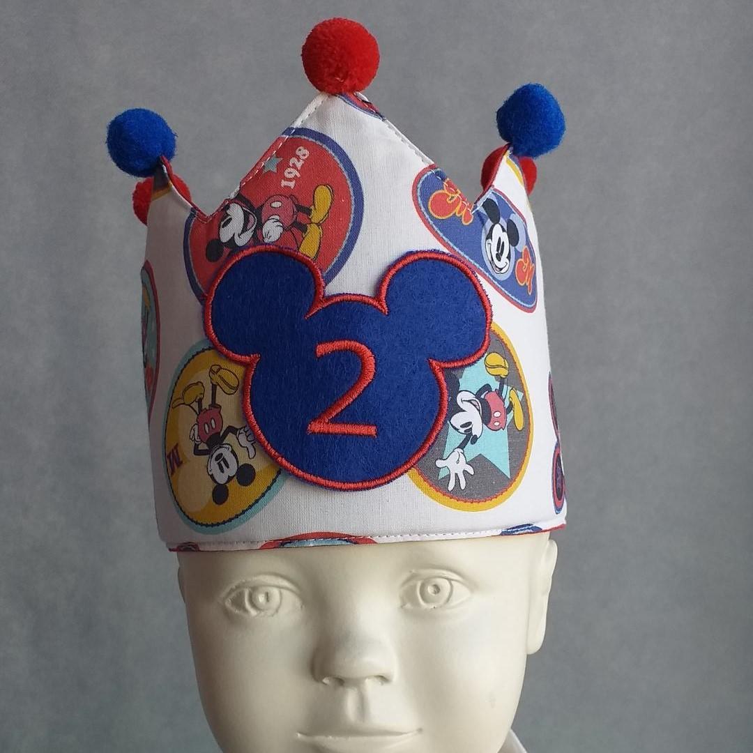 Corona Cumpleaños Mickey.