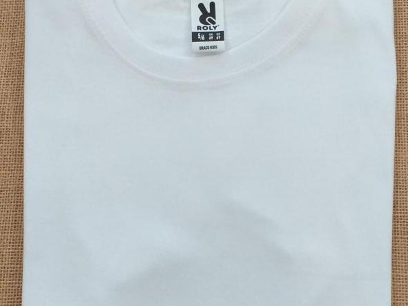 Camiseta blanca niño [0]