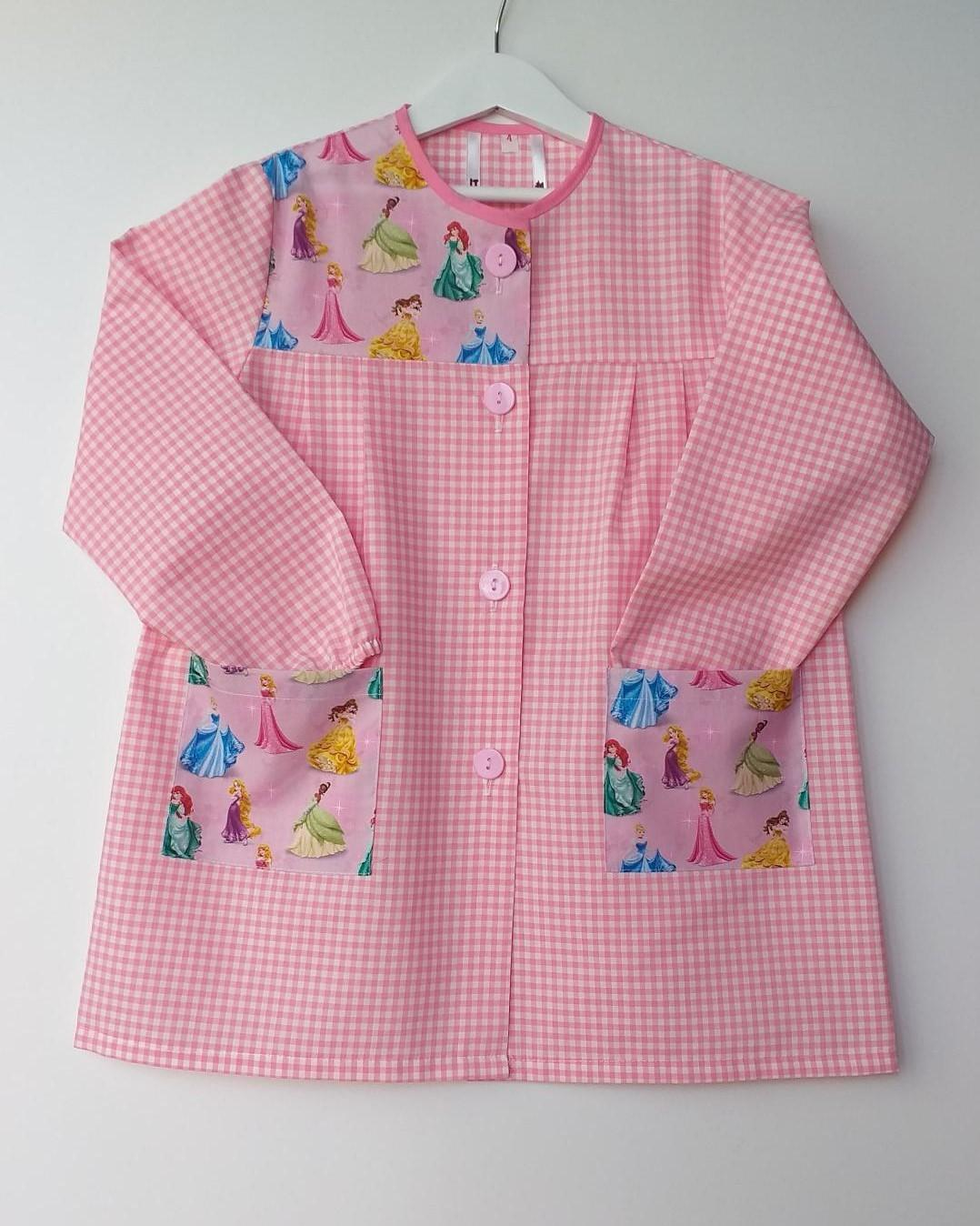 Bata Princesas Disney vichy rosa