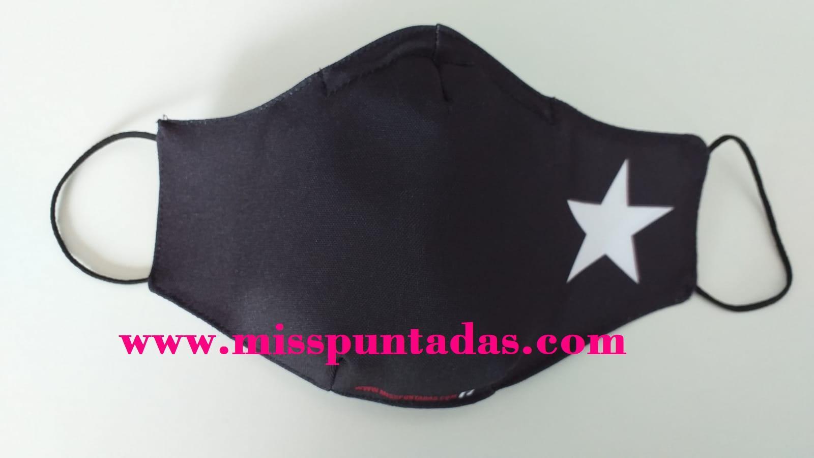 Mascarilla Estrella Blanca MP-VR.