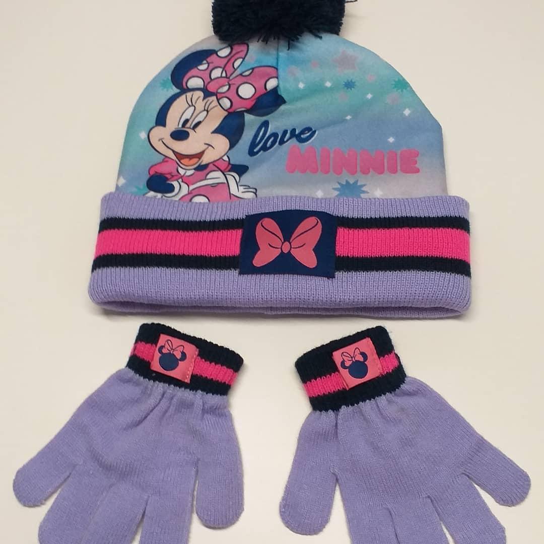 Gorro + guantes Minnie