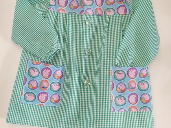 Bata Pepa Pig vichy verde agua [1]