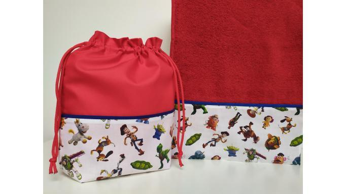 Toalla - Bolsa Toy Story