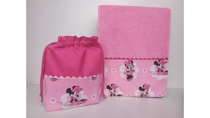 Toalla - Bolsa Minnie Mouse [1]