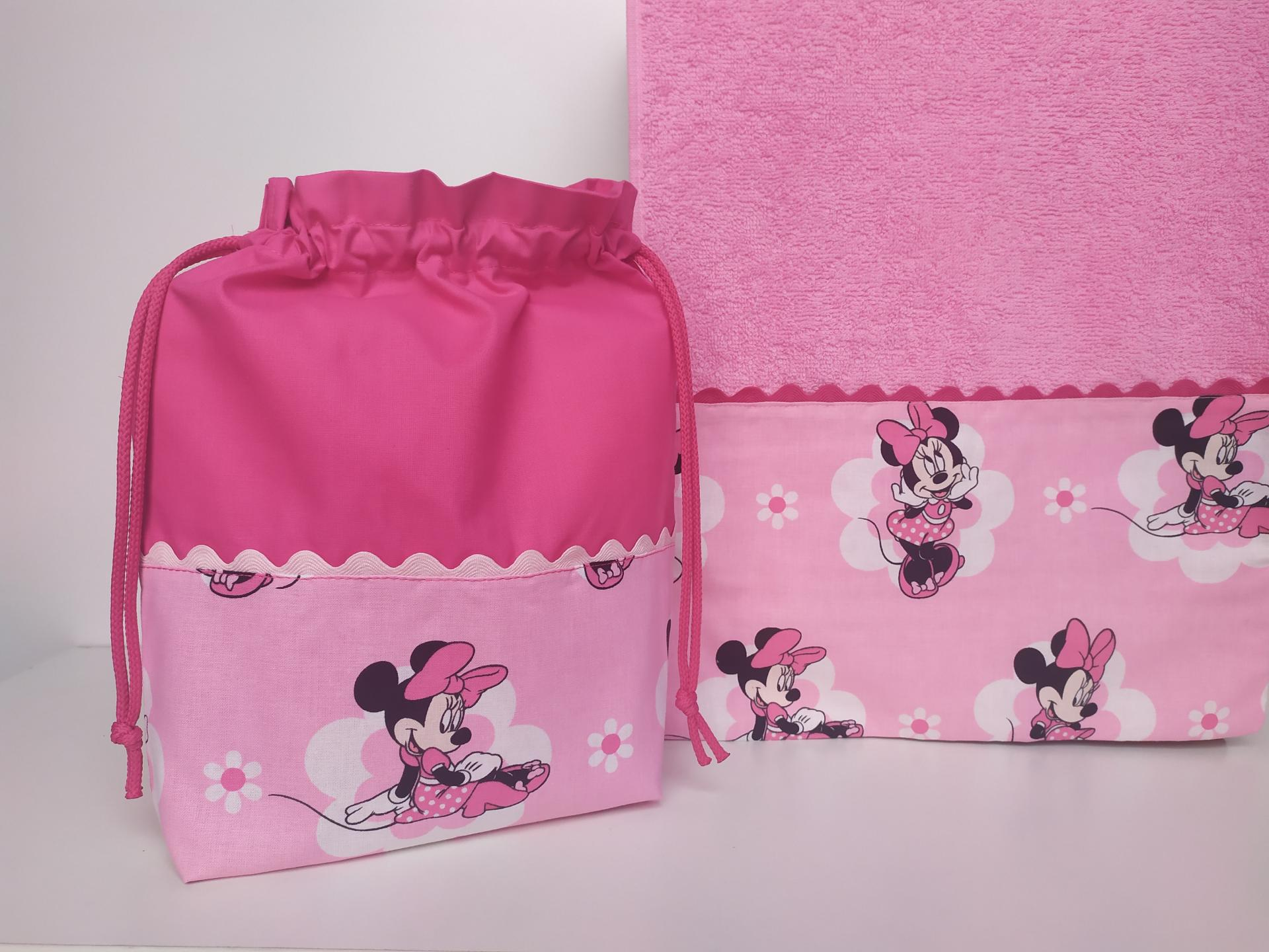 Toalla - Bolsa Minnie Mouse