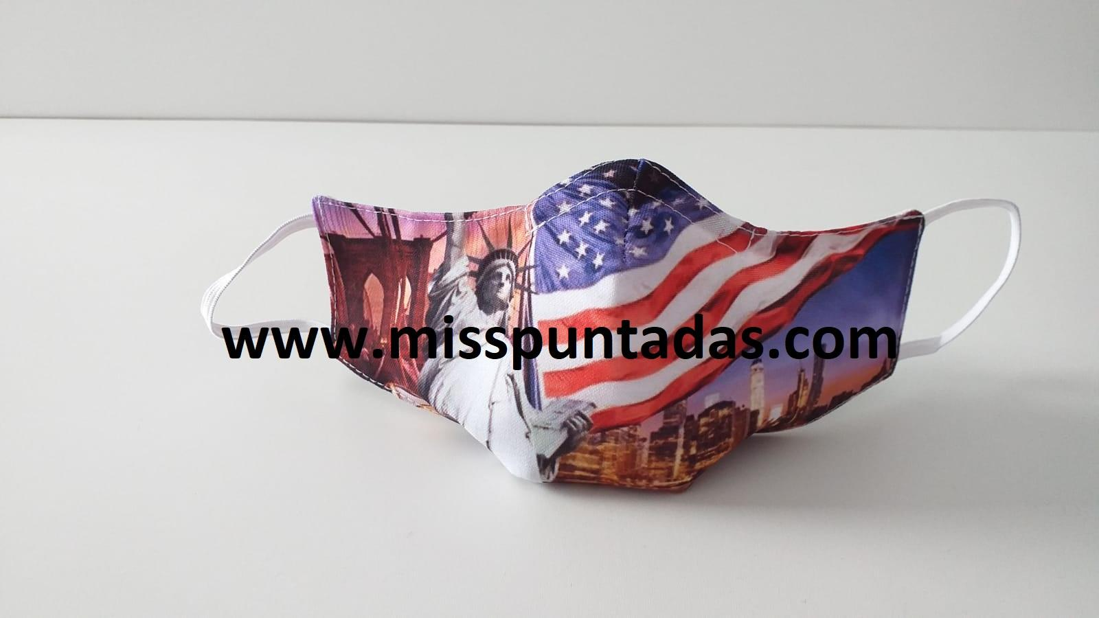 Mascarilla EEUU MP-VR