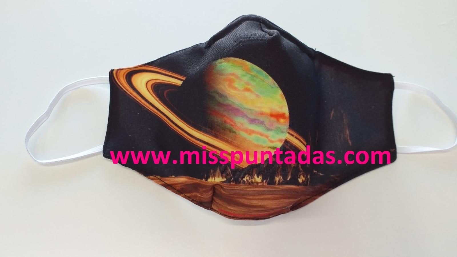 Mascarilla  Saturno MP-VR