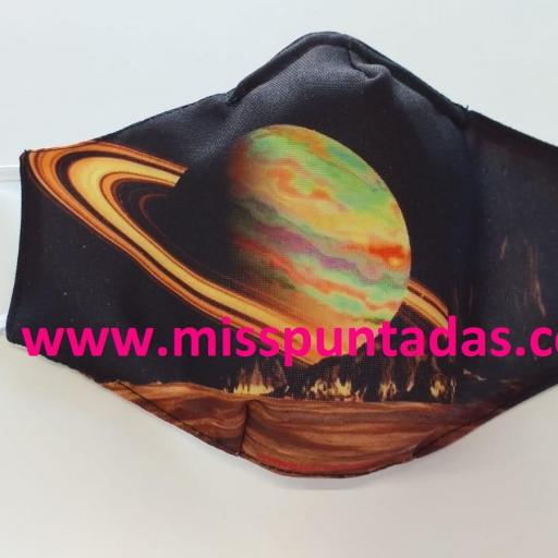 Mascarilla  Saturno MP-VR