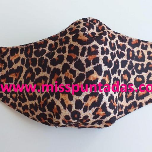 Mascarilla Leopardo MP-VR