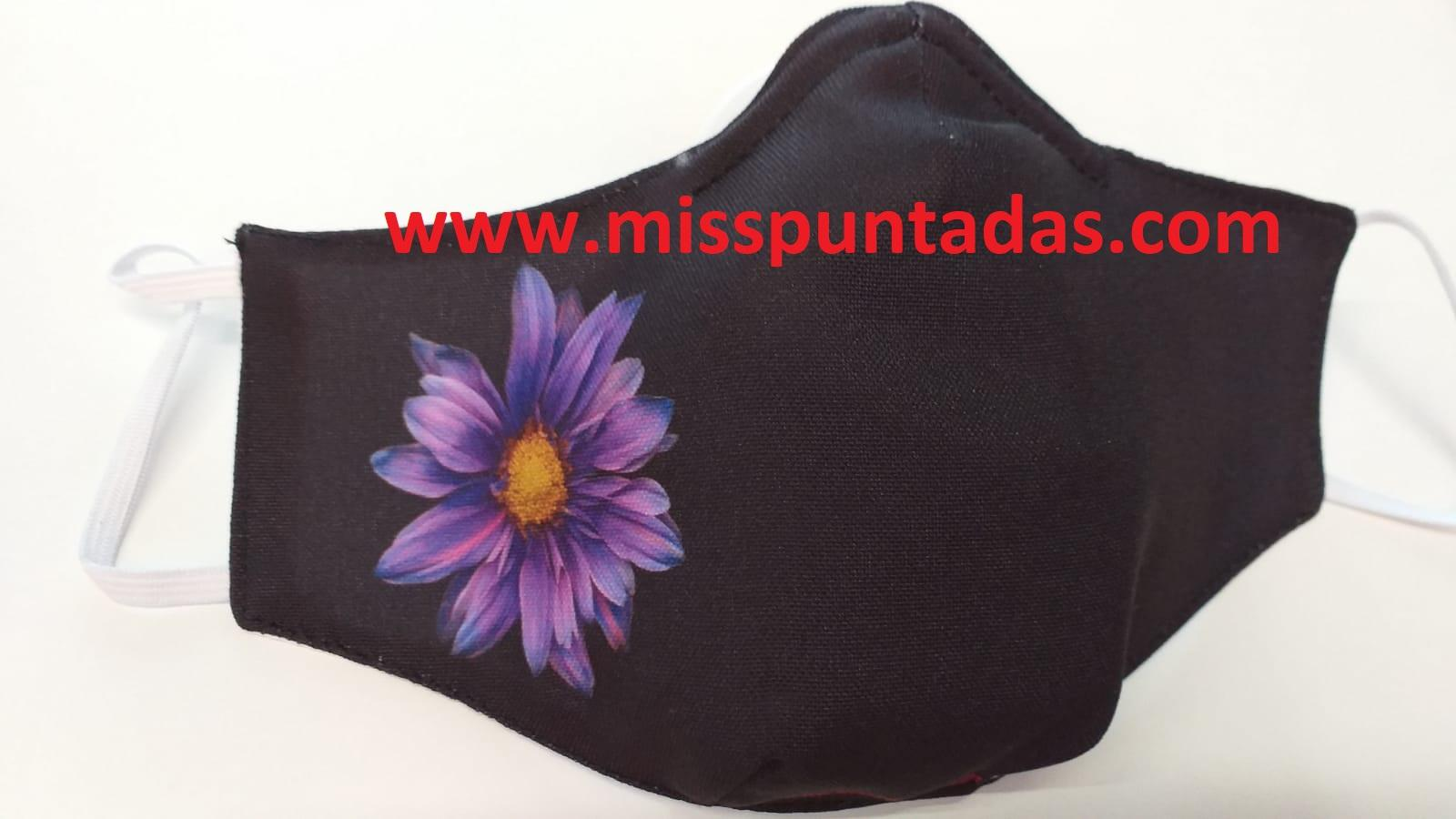 Mascarilla Flor Lila MP-VR