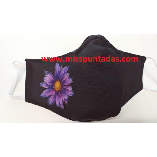 Mascarilla Flor Lila MP-VR [0]