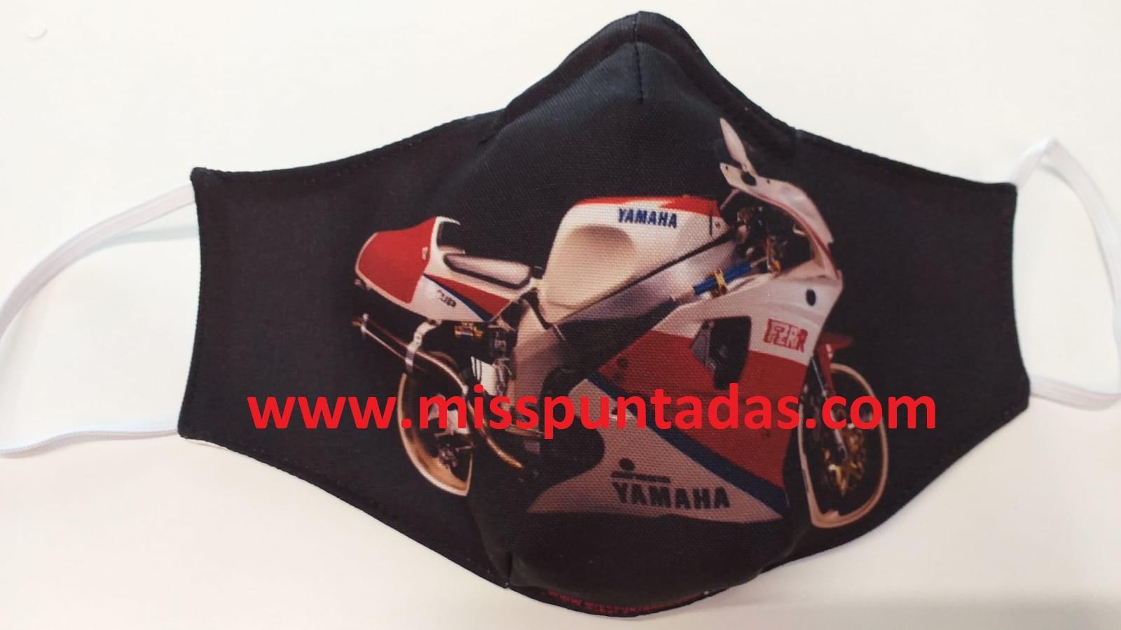 Mascarilla Moto Yamaha hacia la derecha MP-VR