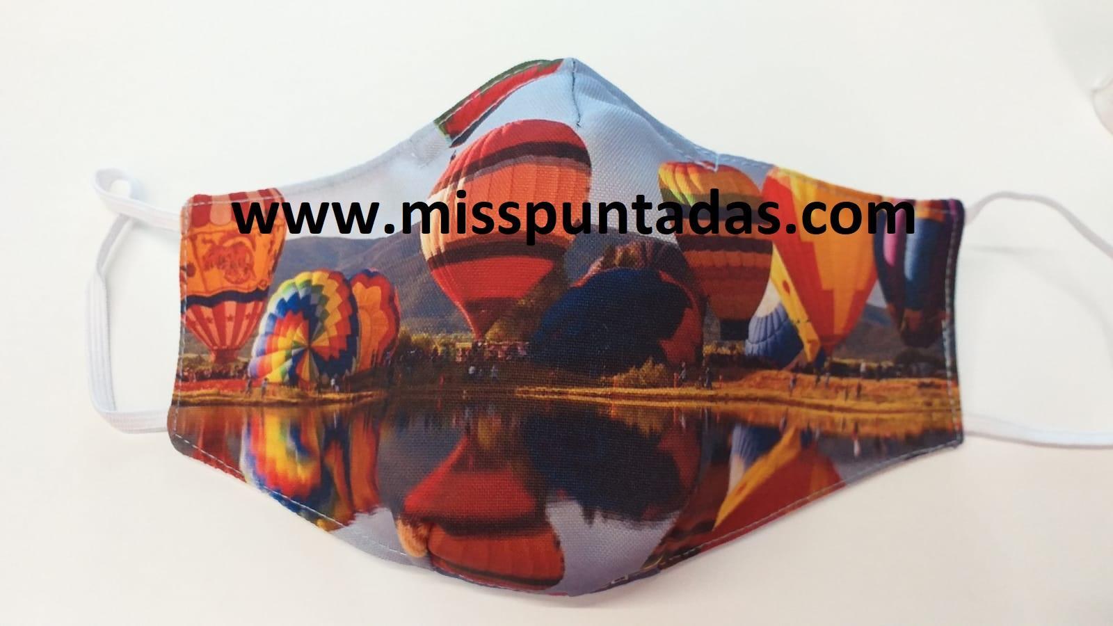 Mascarilla Globos Aerostáticos MP-VR