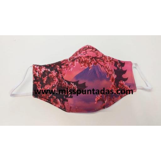 Mascarilla Monte Fuji  MP-VR