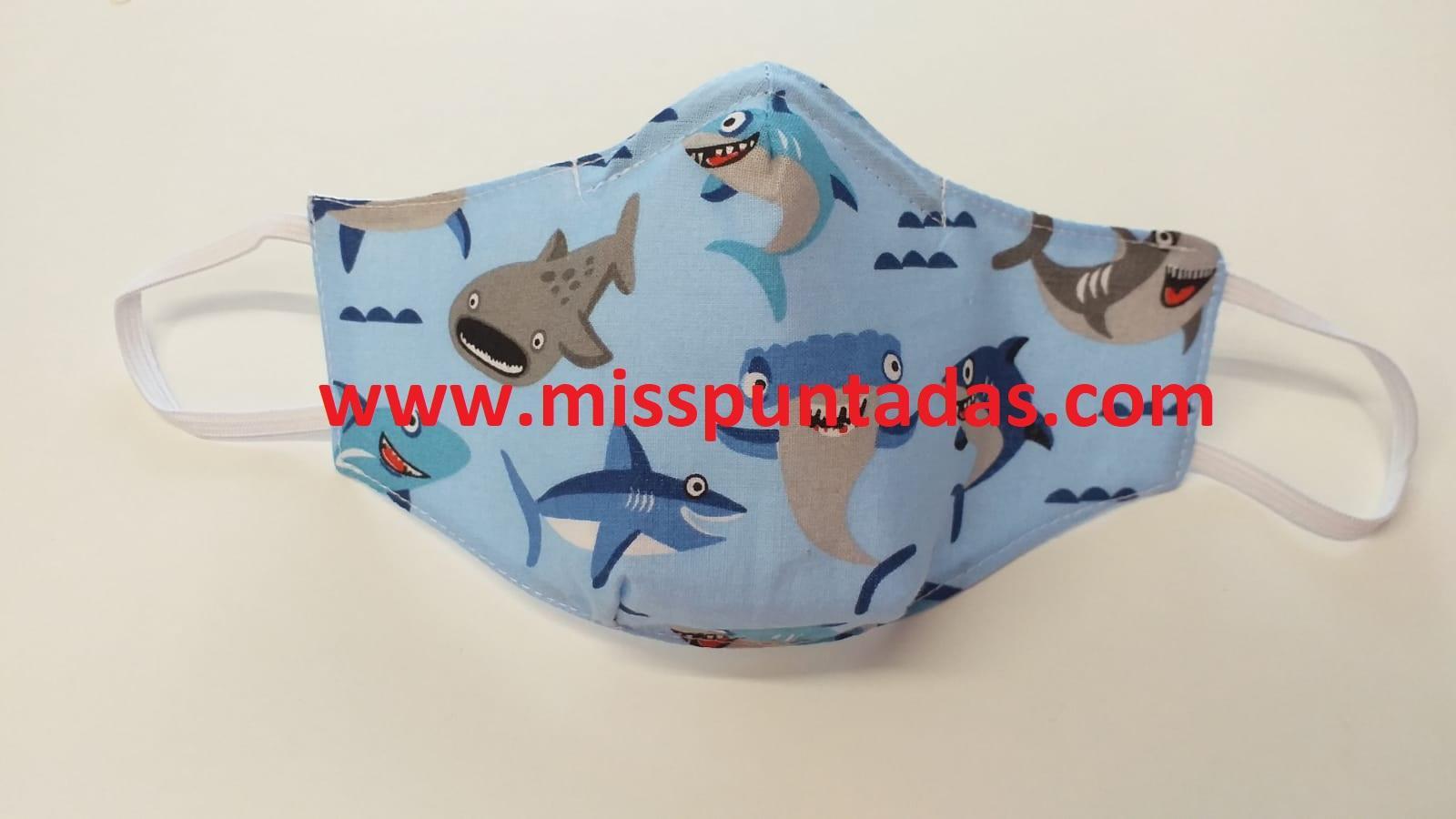 Mascarillas Tiburones MP-VR