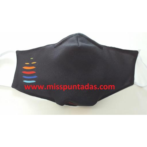 Mascarilla Piedras Multicolor MP-VR