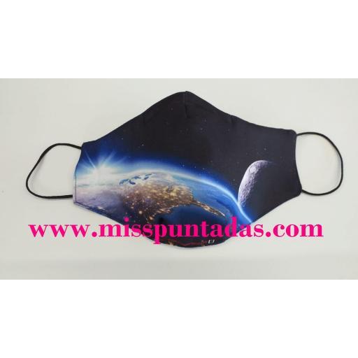 Mascarilla La Tierra y la Luna MP-VR