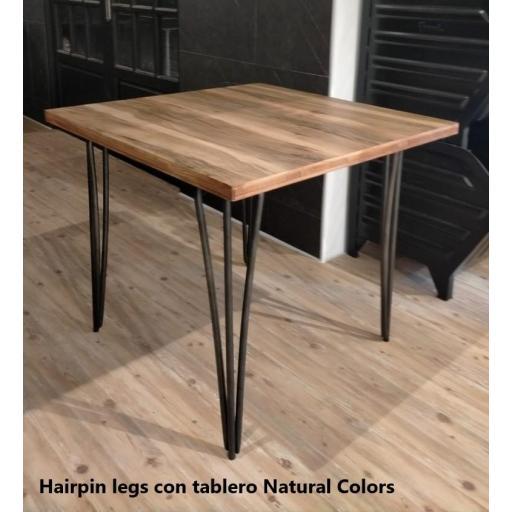Mesa industrial Hairpin Legs [3]