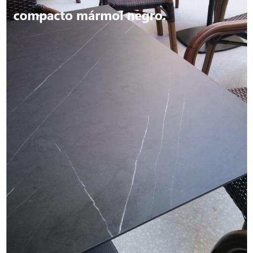 Tablero compacto mármol negro  [1]