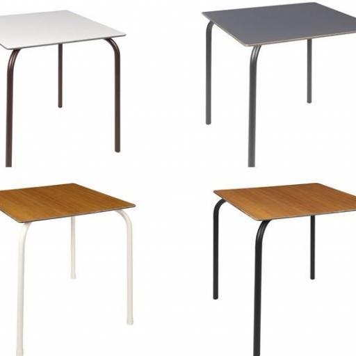 Mesa básica de  aluminio [1]