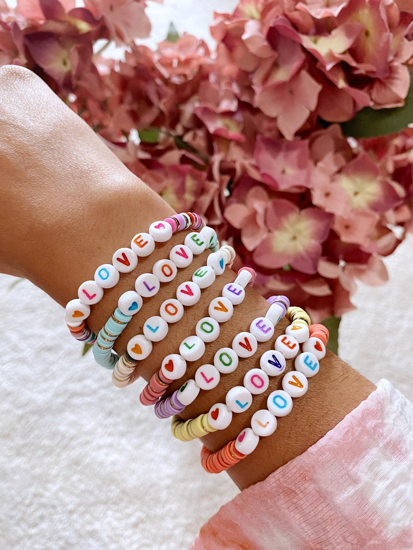 Pulsera Love Multicolor