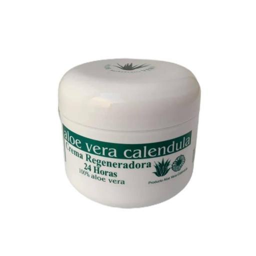 Crema regeneradora 24h aloe con vera y caléndula (100ml)