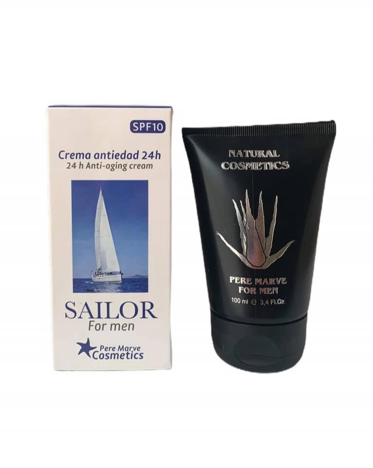 Crema anti edad 24h Sailor para hombres (100ml)