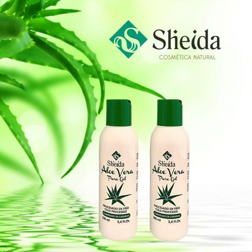 Gel de aloe vera puro (100ml) Sheida [1]