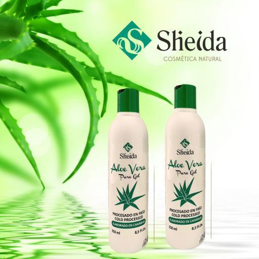 Gel de aloe vera puro (250ml) Sheida [1]