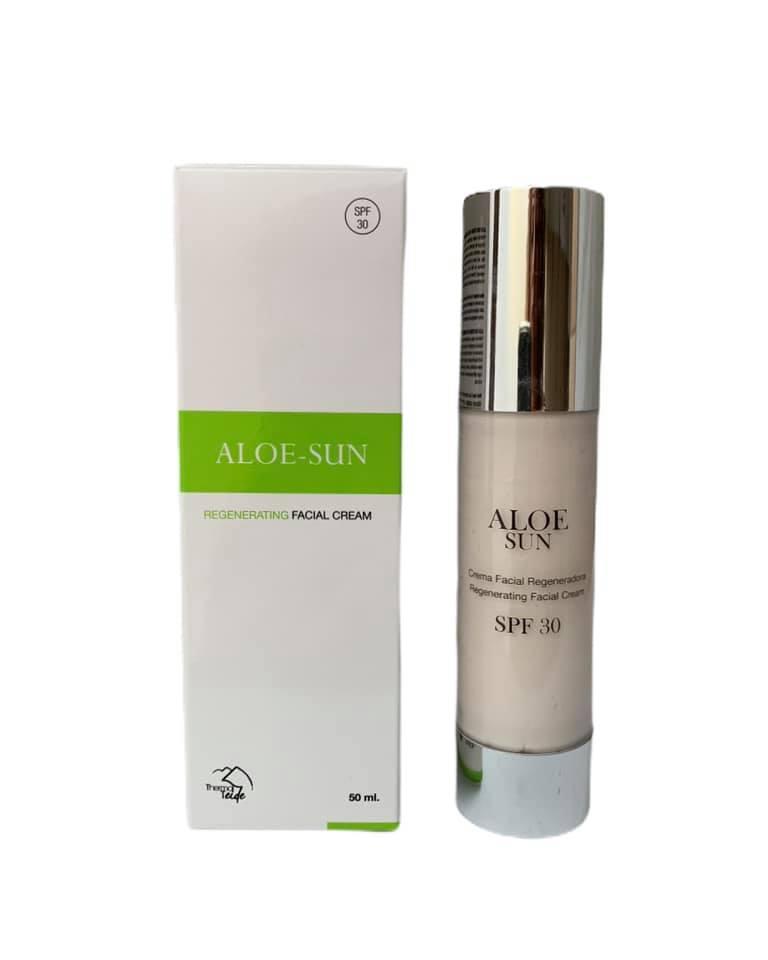 Crema facial regeneradora Aloesun SPF30 (50ml)