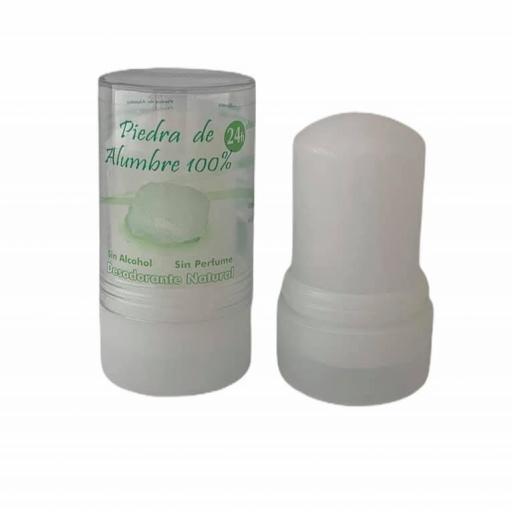 Desodorante natural piedra de alumbre potásico (120grs)