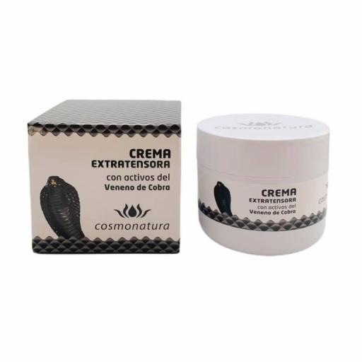 Crema facial extra tensora con activos de veneno de cobra (100ml)