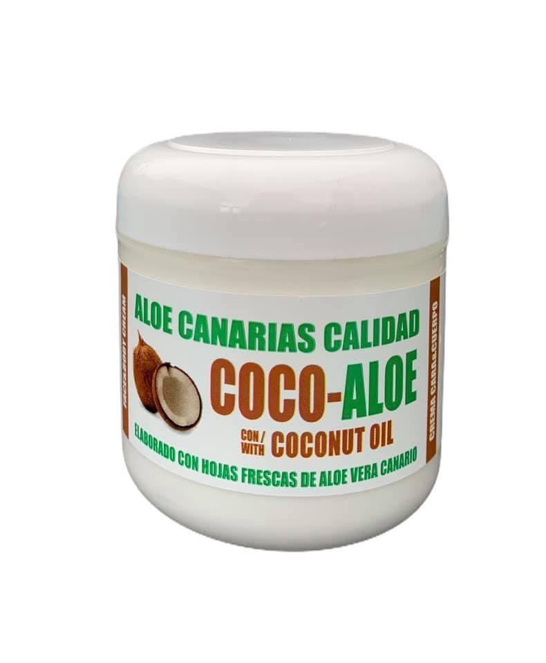 Crema cara y cuerpo aloe y aceite de coco (300ml)