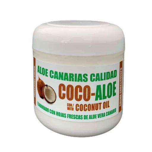 CREMA CARA Y CUERPO ALOE VERA Y ACEITE DE COCO (300ml) A.C.CALIDAD