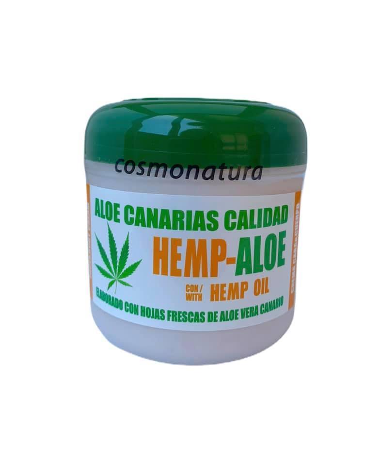 Crema cara y cuerpo aloe-cáñamo (300ml)