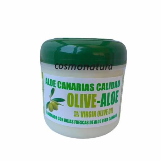 Crema cara y cuerpo aloe-aceite de oliva (300ml)