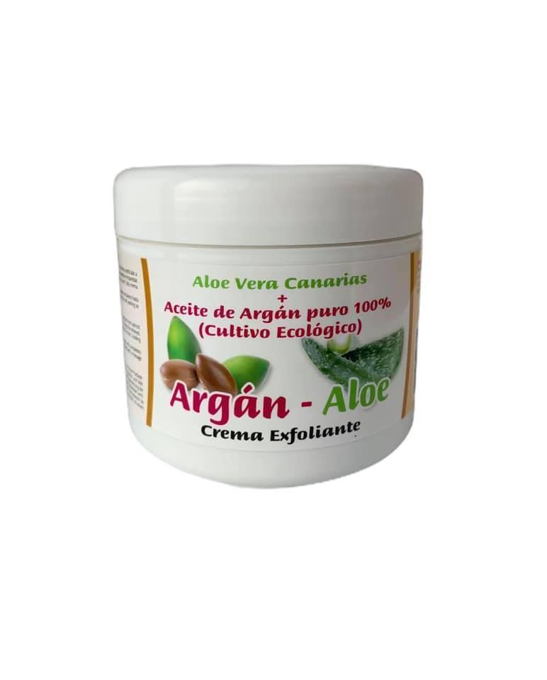 Crema exfoliante corporal argán y aloe (500ml)