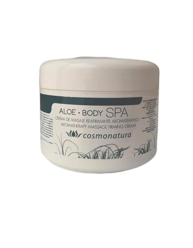 Crema de masajes reafirmante aromaterápico (250ml)