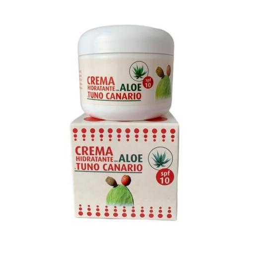 Crema hidratante de aloe vera y tuno canario FPS10 (120ml) [0]