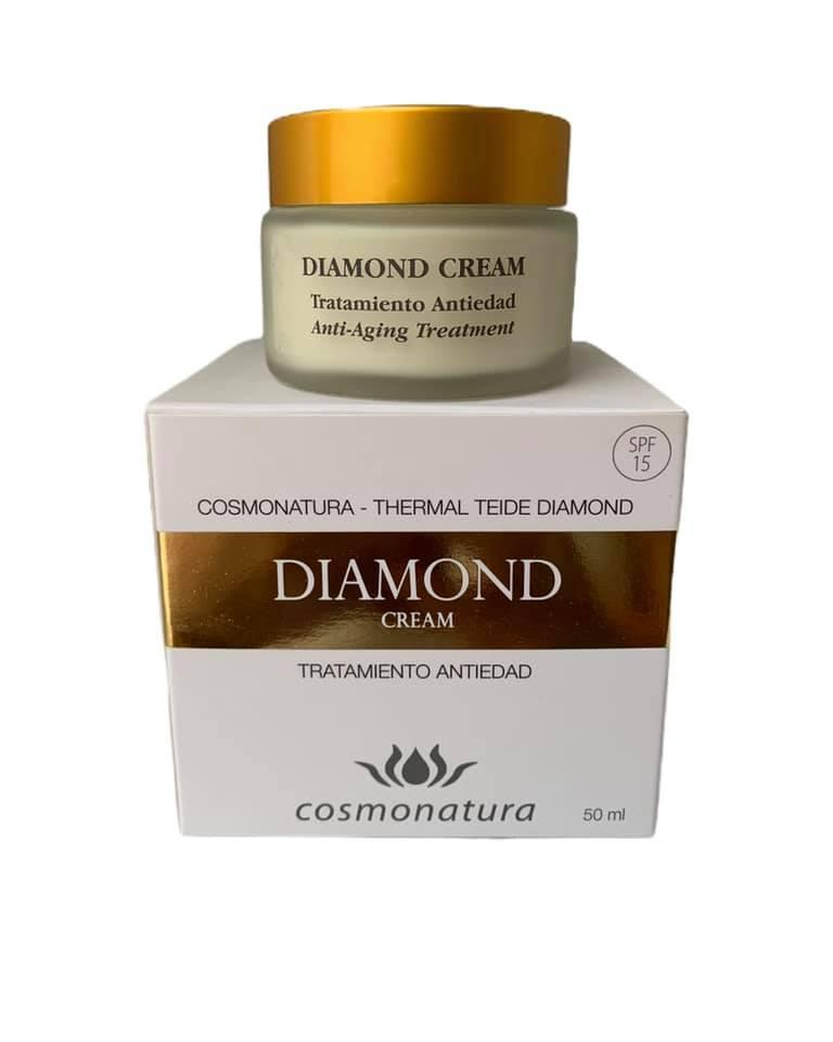 Crema tratamiento anti edad SPF15 Diamond (50ml)